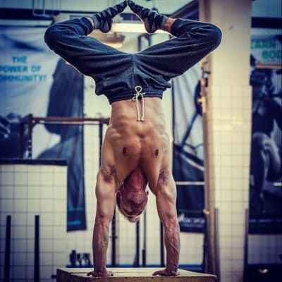 Diamond Handstand - Niels Training