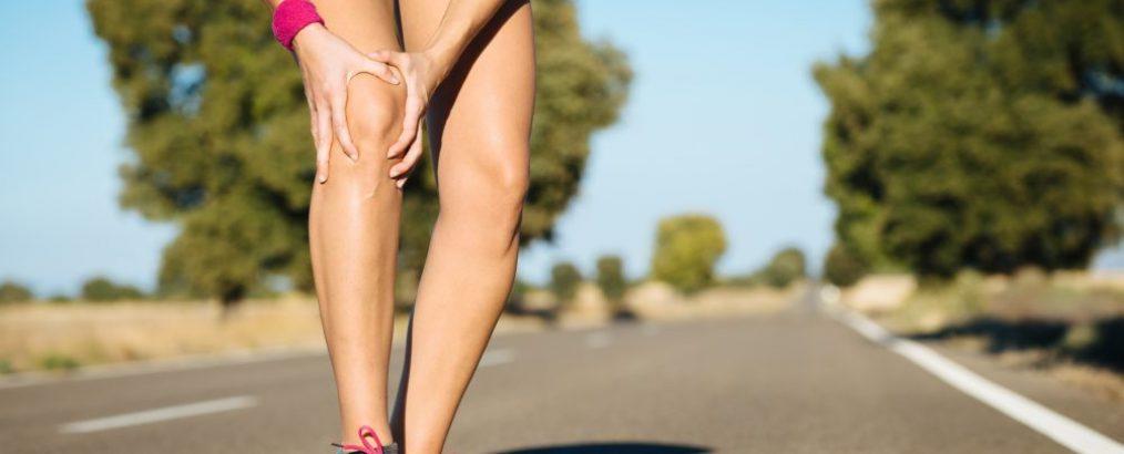 løber beskytter knæ efter skader ved løbetræning