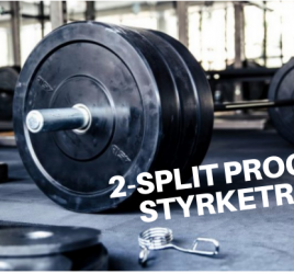 2-split program til styrketræning