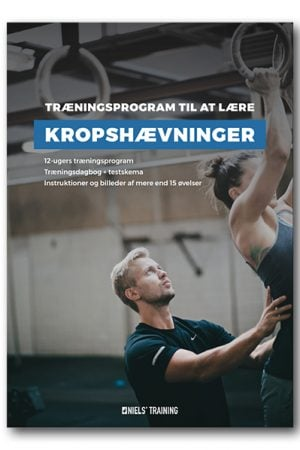 12 ugers træningsprogram til at lære kropshævninger