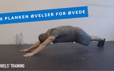 Planken: Seks nye udfordrede øvelser til mavetræning